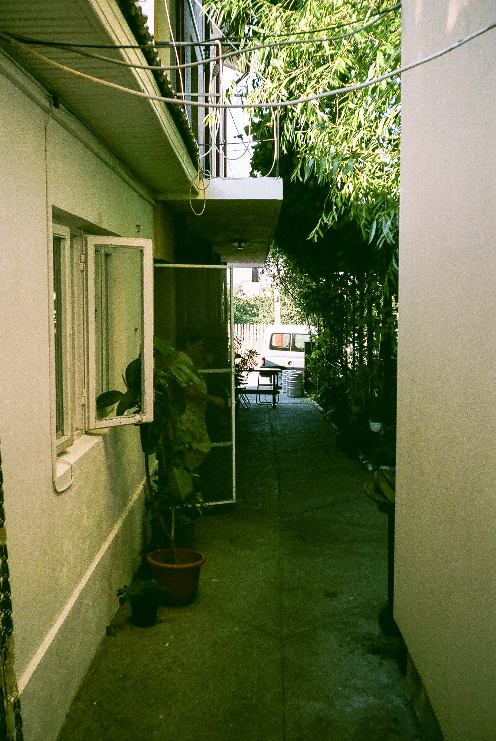 in shade | small alley