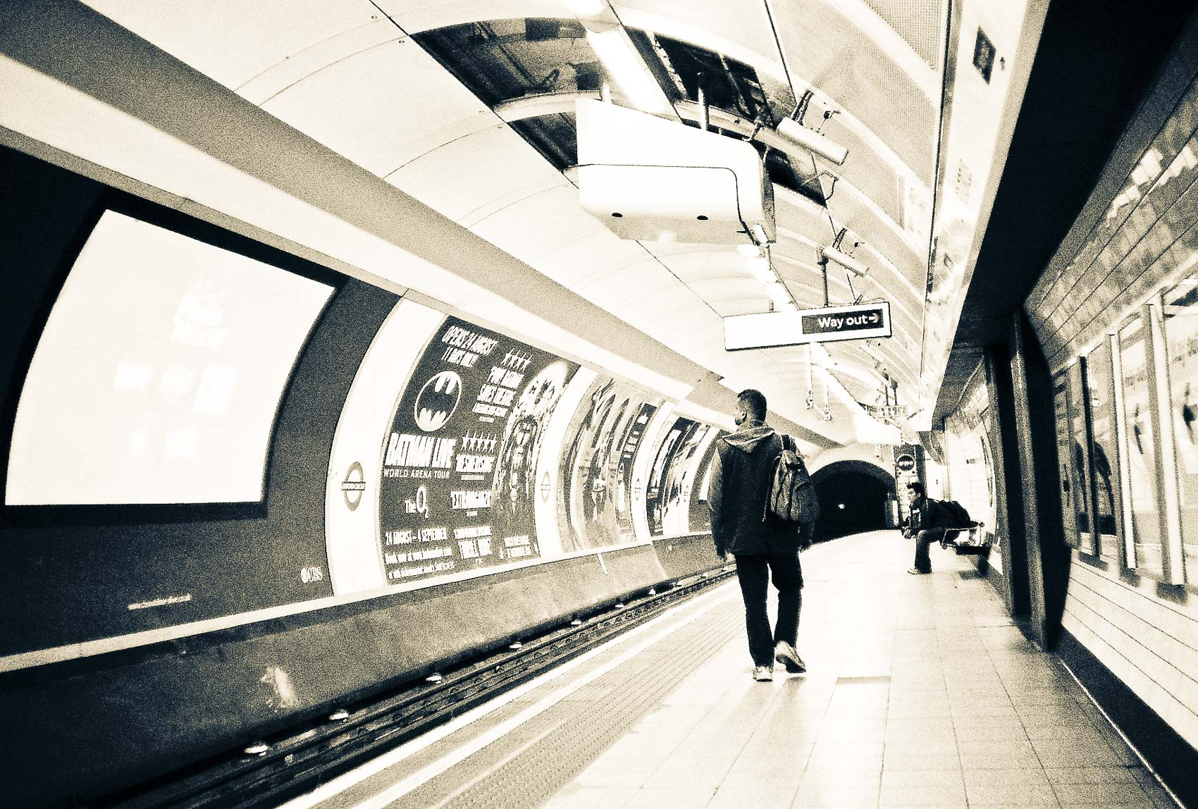 i'm so late | man in the tube